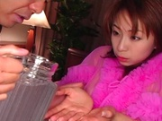 Karen Ichinose amazing Asian porn show in POV scenes