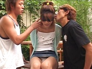 Cum in mouth for sensual Anna Kaneshiro.