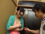 Cheating wife getting fingered on a hidden cam