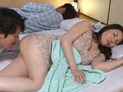 Sophia Takigawa fucked and made to swallow jizz