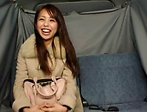 Hot Japanese AV Model pleasures herself with a toy picture 15
