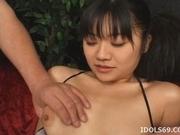 Misaki Saya Hot Japanese Gets Covered In Sticky Cum