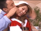 Miyu Hoshino Enjoys Dressing As Santa And Getting Laid