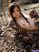 Miyu Sakurai Lovely Asian Nymph Enjoys The Nude Outdoors