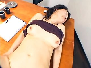 Mature Japanese lady Ayako Satonaka gets fucked hard in POV