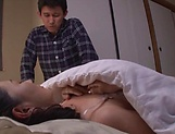 Arousing Japanese AV Model gets banged doggy style