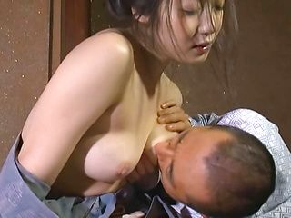 Erotic Japanese lady in kimono is a fan of hardcore banging action