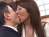 Rika Fujishita Asian mature chick gets big tits fucked picture 11