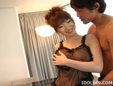 Ai Nakatsuka Big Tits Lingerie Babe Japanese babe gets Her Bit Tits Fucked By Hard Cock