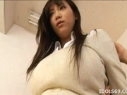 Naughty Asian Model Gets Her Big Tits Tweaked By Her Guy