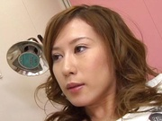 Hikari Kirishima enjoys wild shag in the clinic