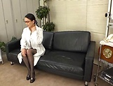 Sexy nurse fucks with the hot doc superbly picture 1