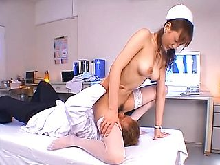 Gorgeous Asian seductress bonked and creamed