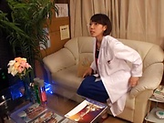 Hot Asian milf enjoying some arousal massage