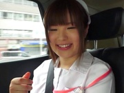 Naughty nurse Koyuru gets her wild muff drilled