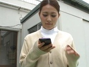 Amazing Misa Mano gets her ass creampied