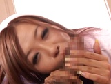 Cock-starved Japanese nurse gives a deep blowjob and rides on dick hard picture 11