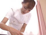 Small tits Asian babe Fuyutsuki Kaede in raunchy sex scene