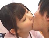 Attractive nurse Nana Ayano fucks horny patient picture 11