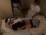 Amateur Japanese nurse fuck her sick patient picture 12