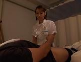 Amateur Japanese nurse fuck her sick patient picture 14