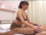 POV hardcore along hot Asian bimbo Ai Takeuchi