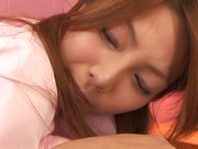 Hot Japanese nurse fucked and made to swallow