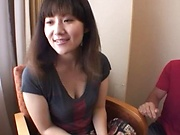 Picked up milf pleases younger lads with full porn