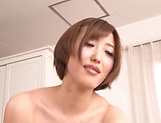 Mizuno Asahi gives a long sensual cock sucking. picture 13