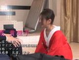 Sexy mature Japanese hottie in kimono arranges tough riding