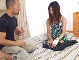 Maki Hoshino receives a big dick in her hairy twat picture 7