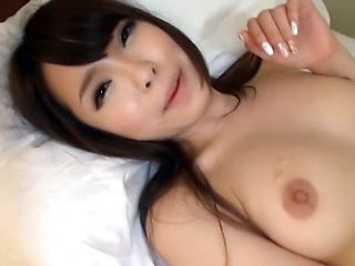 Juicy Asian AV model with tight ass and long legs banged in pov
