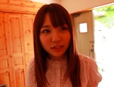 Naughty teen Hitomi Maisaka enjoys head fuck and pussy banging picture 9