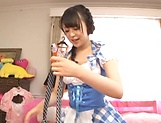 Exquisite Kamiki Sayaka enjoying hardcore session picture 11