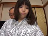 Busty Japanese AV Model receives warm pussy stimulation