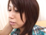 Arousing Asian milf Yoshino Ichii gets hardcore tit fuck picture 13