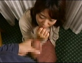 Amateur Japanese AV Model sucks dick and gets her cunt creamed picture 10
