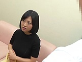 Busty Japanese milf Hosaka Eri enjoys sex with a younger man picture 14