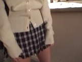 Creampie to please naughty schoolgirl  Aoi Kawamura picture 4