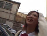 Creampie to please naughty schoolgirl  Aoi Kawamura picture 8