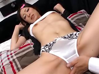 Creampie end for bimbo´s filthy porn adventure