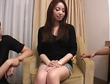 Amazing Japanese beauty hard fucked and jizzed on pussy picture 11