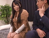 Hot Japanese AV model endures cock in various modes picture 7