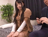 Hot Japanese AV model endures cock in various modes