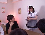 Kamiki Sayaka  gets a messy cum on ass. picture 5