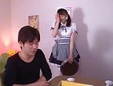 Kamiki Sayaka  gets a messy cum on ass. picture 6