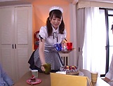 Kamiki Sayaka  gets a messy cum on ass. picture 7