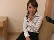 Office beauty plays along and enjoys sex at work