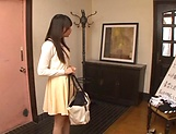 Exquisite Asian honey Kamiki Sayaka steamy fuck picture 2