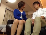 Japanese wife enjoys riding a stiff rod picture 11